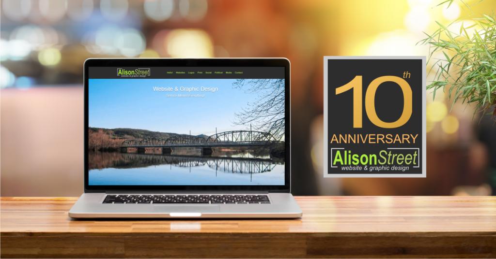 Alison Street Website Design