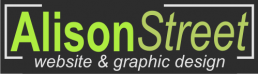Alison Street Website Design Logo